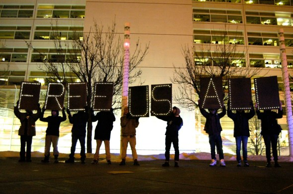 The Chicago Light Brigade (photo by Caroline Siede)